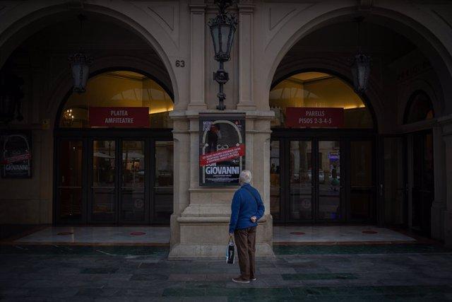 Gran Teatre del Liceu.  Barcelona, Catalunya (Espanya), 16 de novembre del 2020.