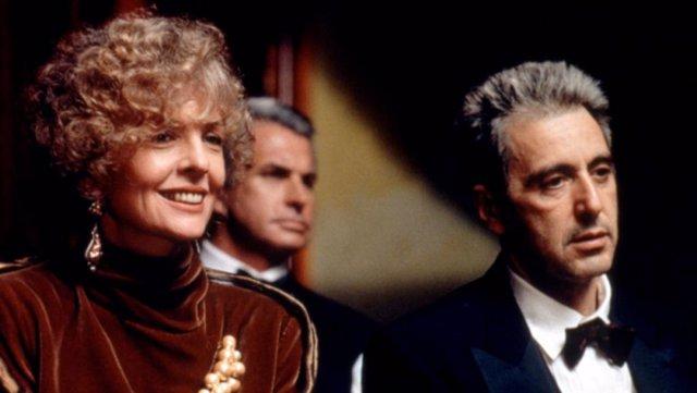 """Diane Keaton, sobre el nuevo montaje de El Padrino III: """"Fue uno de los mejores momentos de mi vida"""""""