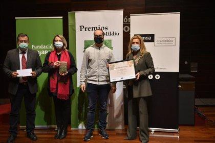 Agricultura.- Agricultura entrega el Premio Mildiu al viticultor de Rioja Baja Guillermo Soldevilla