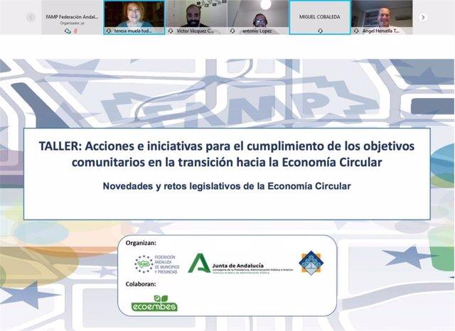 La FAMP y Ecoembes apuestan por la economía circular en una jornada de Formación Continua