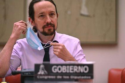 Iglesias anuncia un acord per impedir els desnonaments de persones vulnerables, que podria durar fins el 9 de maig