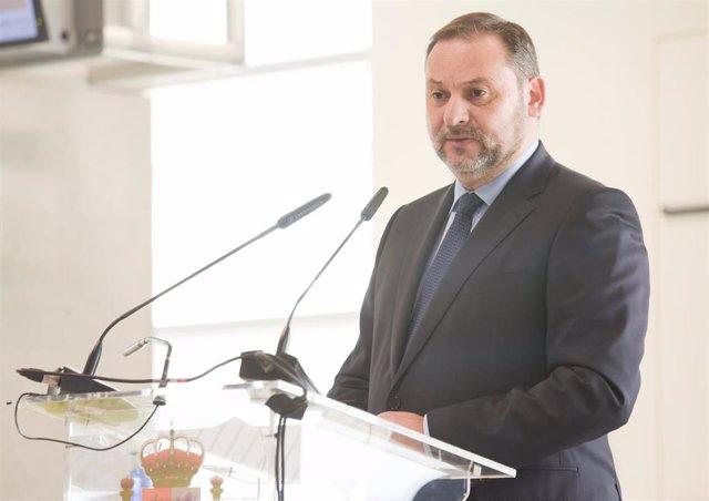 El ministro de Transportes, Movilidad y Agenda Urbana, José Luis Ábalos, en una foto de archivo.