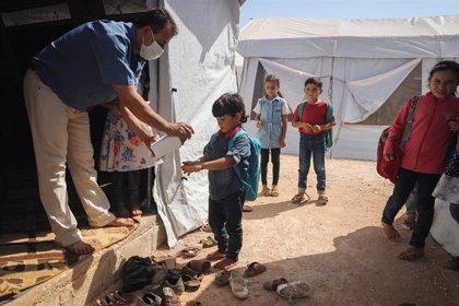 Más de 120 niños han muerto o resultado heridos en el noroeste de Siria pese al alto el fuego