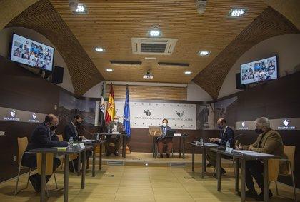 El Pleno de la Diputación de Cáceres aprueba 422.000 euros para mejorar la depuración de aguas en 11 municipios