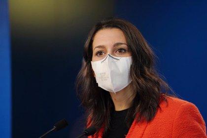 """Arrimadas confirma que Cs votarà en contra dels pressupostos per les cessions """"intolerables al nacionalisme"""""""