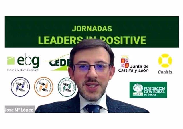 José Mª López en las Jornadas Leaders in positive de CEDERED