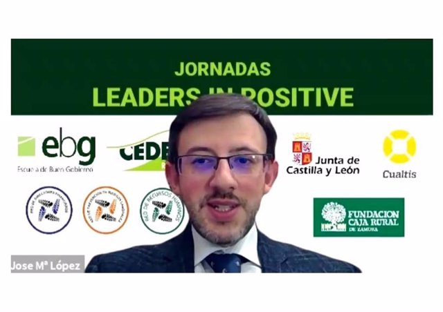José Mª López en las Jornadas Leaders in positive de CEDERED