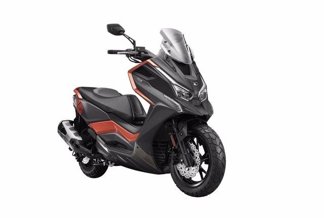Kymco comercializará el nuevo DT X360 en España.