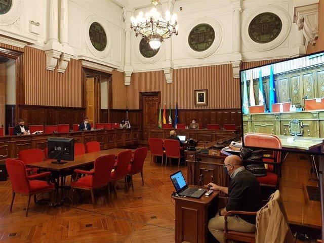 Pleno de presupuestos de la Diputación de Jaén