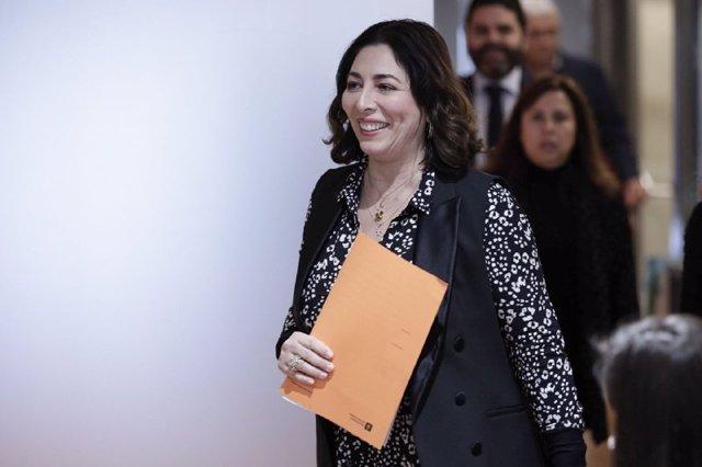 La presidenta de Cs a l'Ajuntament de Barcelona, Luz Guilarte.