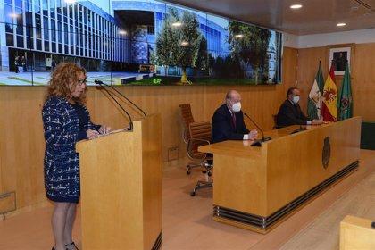 El pleno de Diputación se suma al 25N con la lectura del manifiesto común de los entes provinciales andaluces