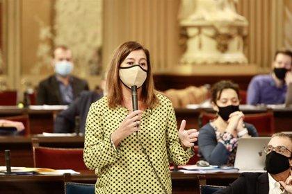 Armengol acusa a Madrid de utilizar los beneficios de ser la capital para hacer rebajas fiscales