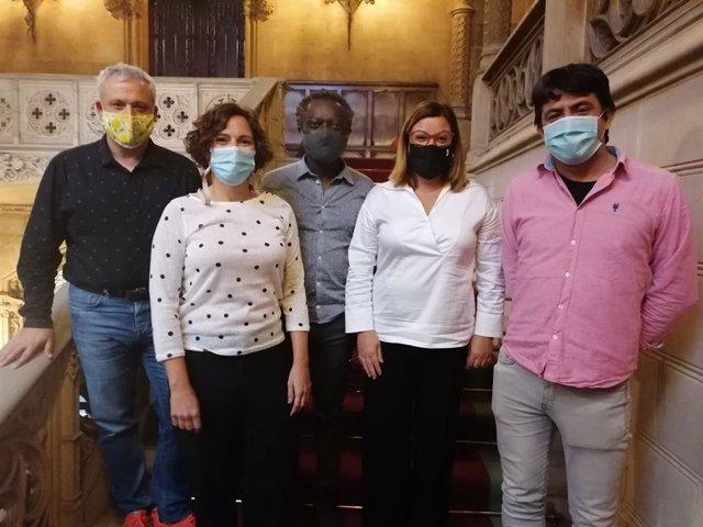 Representantes de MÉS per Mallorca en el Consell.