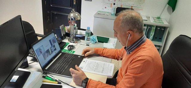 El presidente del Sector de Sanidad de CSIF-A, Victorino Girela, en una foto de archivo