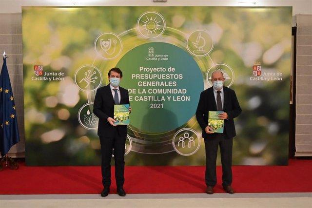 """AM.-PGC.- La Junta presenta las cuentas """"más ambiciosas de la historia de CyL"""" con 12.291 millones, un 13,19% más"""