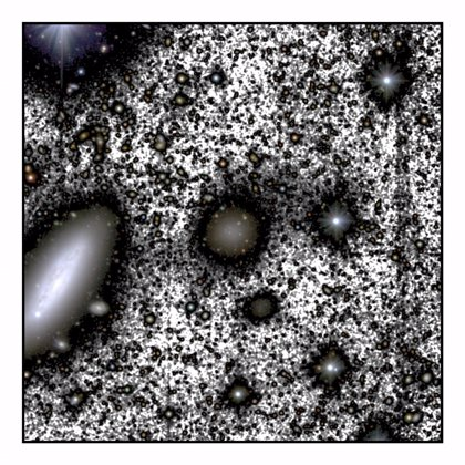 Descubren el mecanismo que elimina la materia oscura de las galaxias