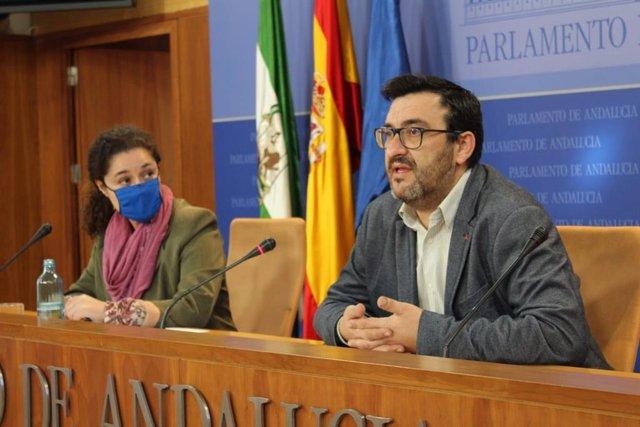 Guzmán Ahumada, en comparecencia en el Parlamento de Andalucía
