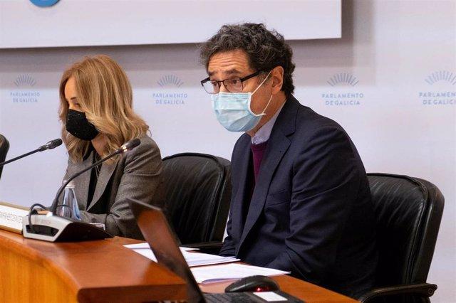 El director xeral de Defensa do Monte, Tomás Fernández Couto, en comisión parlamentaria