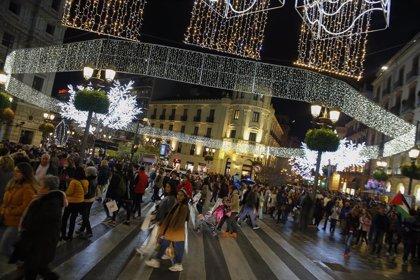 Granada alumbra el próximo lunes la Navidad en horario adaptado a la situación sanitaria