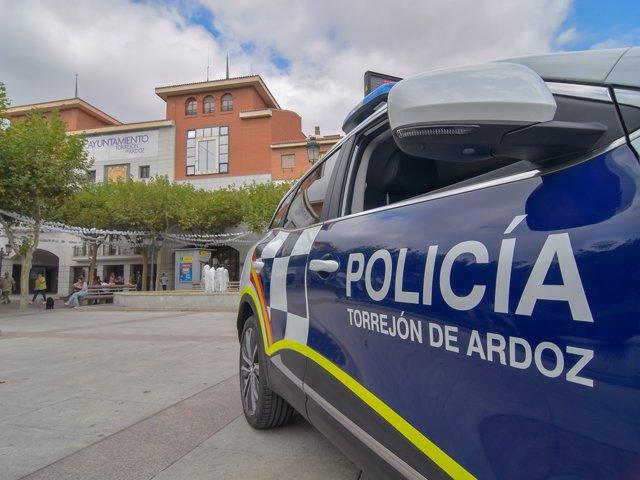 Una imagen del a Policía Local de Torrejón de Ardoz