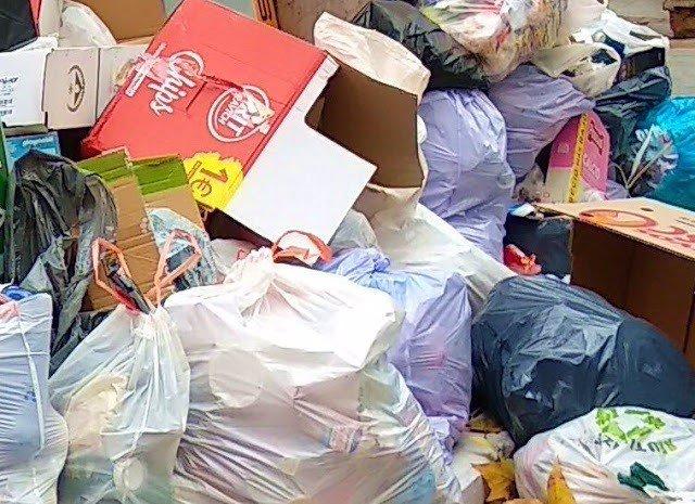 Imagen de recurso de bolsas de basura.