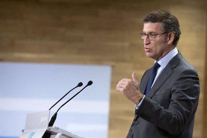 """Feijóo no se opone a una armonización fiscal, pero matiza que debe ser """"a la baja"""" y no para subir impuestos"""