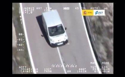 La campaña de control de furgonetas arroja 210 conductores denunciados en Sevilla de 1.785 vehículos revisados