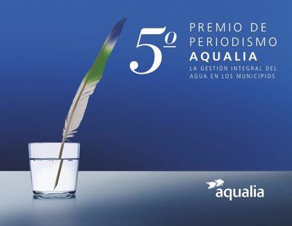 Aqualia convoca la quinta edición del Premio de Periodismo 'La gestión integral del agua en los municipios'