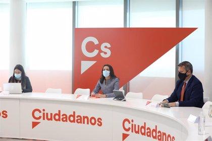 Arrimadas analizará el sábado con los coordinadores autonómicos de Cs las medidas impulsadas desde gobiernos y oposición