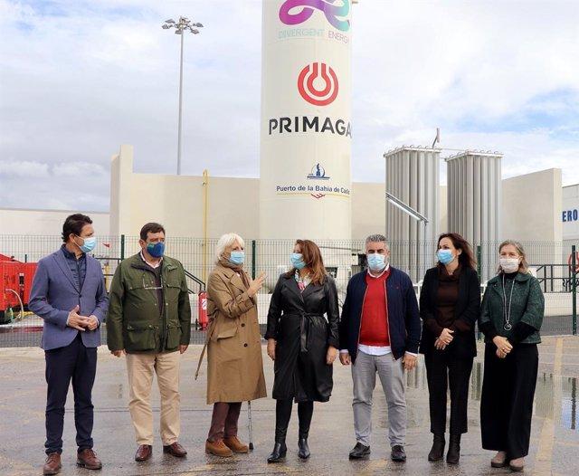 Np La Consejera De Agricultura Valora El Proyecto Público Privado De Reducción De Huella De Carbono Impulsado En El Puerto De Cádiz (Consejería De Agricultura, Ganadería, Pesca Y Desarrollo Sostenible)