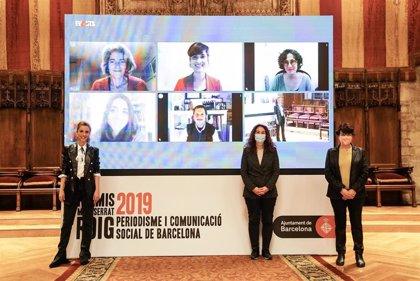 Barcelona galardona cinco iniciativas en los Premis Montserrat Roig al periodismo social 2019