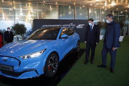 """Ford presenta en España su Mustang 100% eléctrico con perspectivas """"ambiciosas"""" para 2021"""
