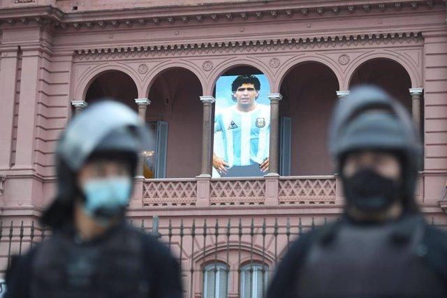 Buenos Aires, Maradona, Casa Rosada
