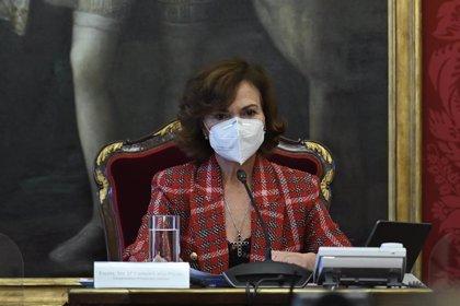 """Calvo celebra la incorporación de dos mujeres al Consejo de Estado ante la """"mayoritaria presencia masculina"""" del órgano"""