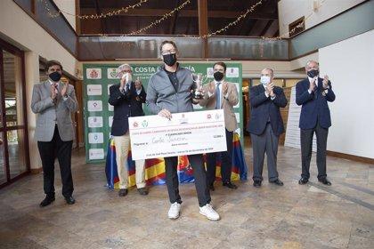 Carlos Suneson, campeón del Costa de Almería Campeonato de España de Profesionales Senior de golf