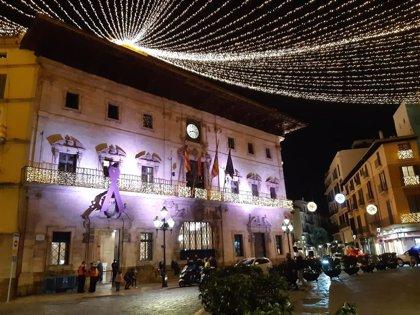 """Palma recibe la Navidad con encendido """"diferente"""" de luces e Hila anima a las familias a disfrutar de espacios abiertos"""