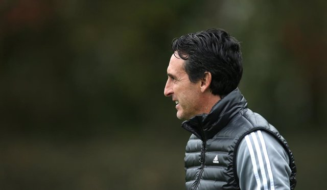 23 October 2019, England, London: Arsenal manager Unai Emery attends during a training session at London Colney ahead of Thursday's UEFA Europa League Group F soccer match against Vitoria SC. Photo: Steven Paston/PA Wire/dpa