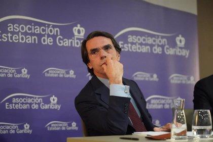 """Aznar: El Gobierno andaluz de PP-A y Cs funciona """"razonablemente bien"""" con políticas """"sensatas y moderadas"""""""