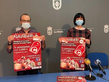 Los vecinos de La Roda que hagan compras navideñas en los comercios locales podrán ganar premios de hasta 500 euros