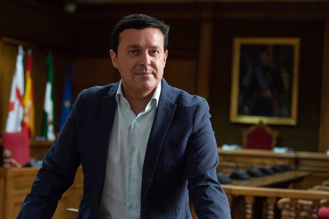 El presidente de la Diputación de Almería, Javier Aureliano García (PP)