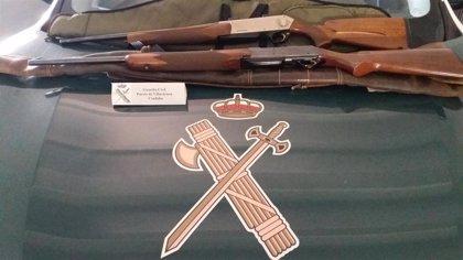 Detenidos en Villaviciosa de Córdoba dos cazadores furtivos tras participar en una montería sin permiso de armas