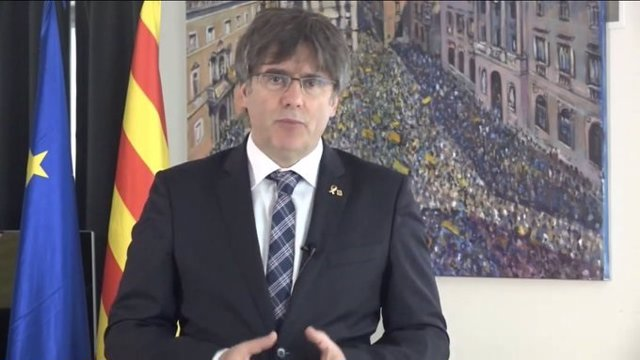 L'expresident de la Generalitat i actual eurodiputat, Carles Puigdemont
