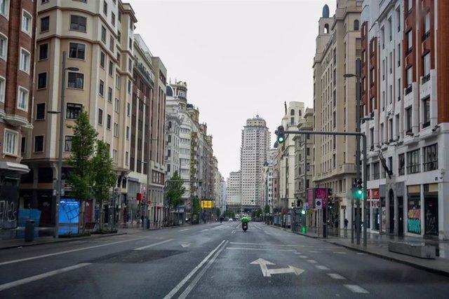 La Gran Vía madrileña.