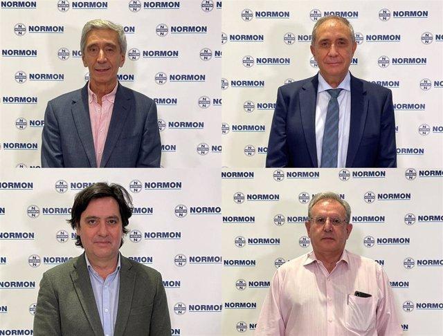 Fidel Ortega Ortiz-Apodaca, Carlos Raposo Simón, José Ramón Salinero Acevedo, y José Antonio Romero Garrido
