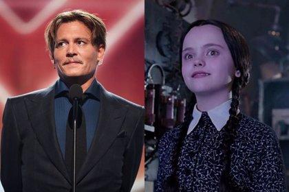 Tim Burton quiere a Johnny Depp en la serie de La familia Addams