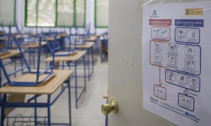 Siete nuevas aulas en cuarentena