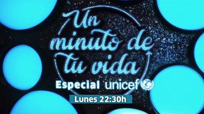 Canal Sur y Unicef se unen un año más en el programa especial 'Un minuto de tu vida'