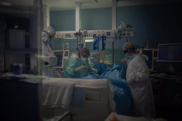 UCI del Hospital del Mar de Barcelona