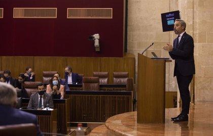 Andalucía presenta superávit de 846 millones, un 0,57% del PIB, hasta septiembre y gasta 671 en Covid, 12,7% del total