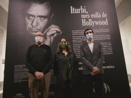 """La muestra 'Iturbi, més enllà de Hollywood' recorre su """"verdadera historia y trascendencia"""" con documentos inéditos"""